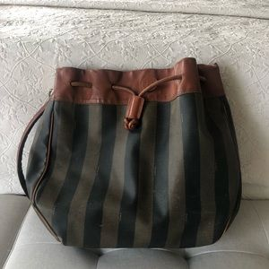 1990s Vintage FENDI Mon Tresor Bucket Bag